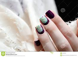 woman hand with dark nail design stock photo image 66833663