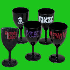luau tiki bar shot glass set pirate halloween party decorations