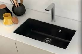 evier cuisine encastrable sous plan evier en gres noir fabulous vier inox lisse apell osiris bac avec