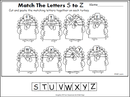 thanksgiving letter matching s z november