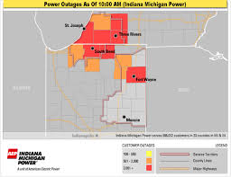 Power Outage Map Michigan by Severe Storms Recap See Who Got Hit Hardest With Wind Power