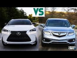 acura rdx vs lexus rx lexus nx 200t f sport 2016 vs 2017 acura rdx interiors