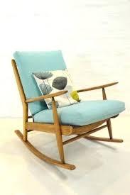 Vintage Recliner Chair Rocking Chair Costco Canada Mid Century Modern Scandart Teak