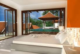 Balinese Bedroom Design Kunja Three Bedrooms Villa Bathroom Bali - Bali bedroom design