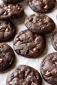 salted chocolate cookies sallys baking addiction