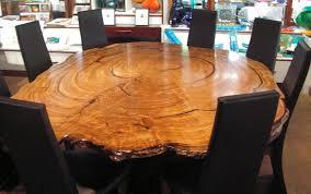burl wood dining room table boranup gallery