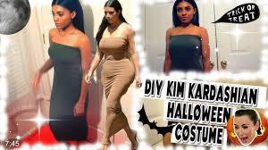 diy kim kardashian halloween hair makeup costume