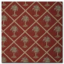 Palm Tree Upholstery Fabric Buy Diamond Palm Tree Garnet Red 1st Quality Heavy Weight Cushion