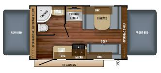 florr plans 2018 feather travel trailer floorplans prices jayco inc