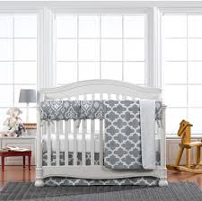 Grey Nursery Bedding Set by Grey Crib Bedding Gender Neutral Baby Bedding Liz And Roo