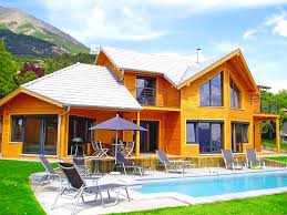chambres d hotes 05 maison à poteaux poutres pour chambres d hôtes la maison bois