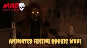 leaked 2017 spirit halloween prop the rising boogie man animated
