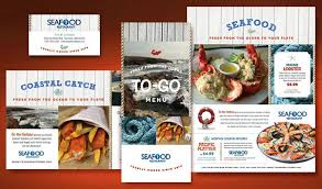 tasty designs for marketing a seafood restaurant stocklayouts blog