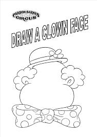 clown coloring pages 12675 coloringbus com