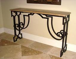 Wrought Iron Console Table Console Tables And Chairs Wrought Artworks Iron Work Australia