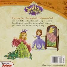 halloween romance novels sofia the first the halloween ball includes stickers disney book