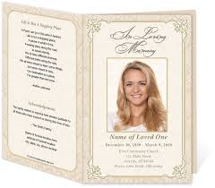 funeral programs exles best 25 memorial service program ideas on funeral