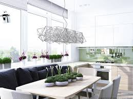Modern White Home Decor by 3 Sparkling Apartments That Shine With Wonderful White