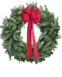 christmas wreath christmas wreath bows how to choose the right size bow