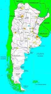 Map Argentina Secret Detention Centers Map