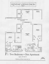 sample floor plans with dimensions contact u2014 resident life at kendal on hudson