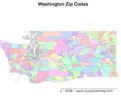 State Of Washington Map by Washington Zip Code Maps Free Washington Zip Code Maps