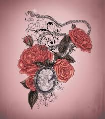 locket and roses design by xxmortanixx on deviantart
