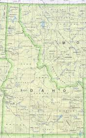 County Map Of Washington State by Idaho Nnlm