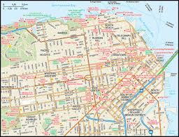 San Francisco City Map by San Francisco A City Transformed Obolobo