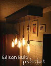 Edison Pendant Light Edison Bulb Pendant Light Fixture 6 Steps With Pictures