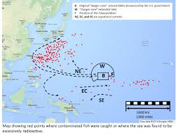 Fukushima Fallout Map by Radioactive Reindeer Nuclear Guinea Pigs Part Xi Of A Series