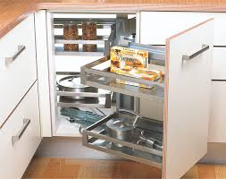 kitchen cabinet interior fittings satin silent magic corner unit universal modular kitchen interior