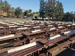 Cheap Table And Chair Rentals In Los Angeles Picnic Tables Los Angeles Partyworks Inc Equipment Rental