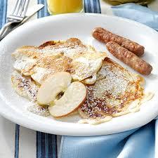 polish apple pancakes recipe taste of home