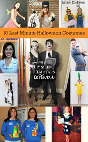 10 last minute halloween costumes housewife eclectic