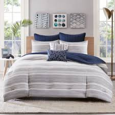 Navy Blue And Gray Bedding Bed U0026 Bath Clearance Comforter Sets U0026 Discount Bedding