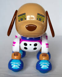 zoomer shadow zoomer zuppies kicks interactive robot dog puppy spin master