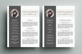 Free Modern Resume Templates Surprising 23 Free Creative Resume Templates With Cover Letter