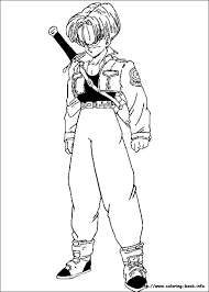 ball coloring pages goku