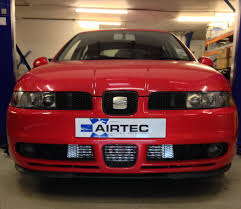 auto specialists airtec intercooler upgrade for seat leon mk1