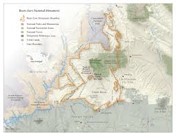 Map Of Utah Parks by Bears Ears National Monument Map Grand Canyon Trust