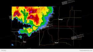Doppler Radar Map 2011 Joplin Missouri Tornado Doppler Radar Stock Animation 1972202