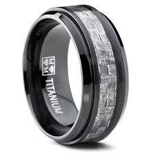 Mens Black Wedding Rings by Wedding Rings Wedding Bands Titanium Black Wedding Rings Mens