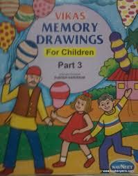 books pens memory drawings children 3