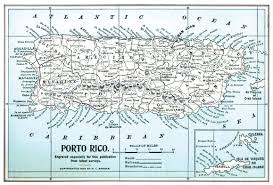Map Of Puerto Rico Puerto Rico