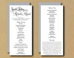 template for wedding programs five exciting parts of attending wedding programs diy countdown