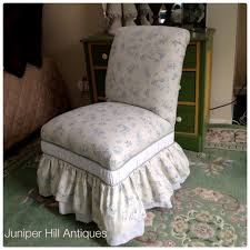 Slipper Chairs Shabby Chic Upholstered Furniture Bergeres Chairs Couches