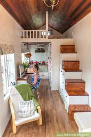 simple house plans with loft simple how to build a tiny house tiny houses storage stairs and