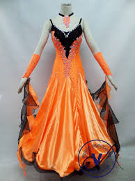 orange dress orange competition ballroom dress venus dancewear your
