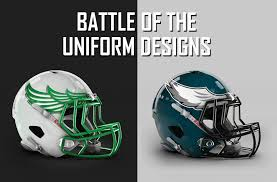 philadelphia eagles battle of the uniforms